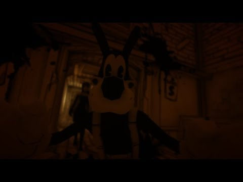 Bendy and the Ink Machine | Full Chapter 3 and Updated 1&2 No Commentary (More bugs and Easter eggs)