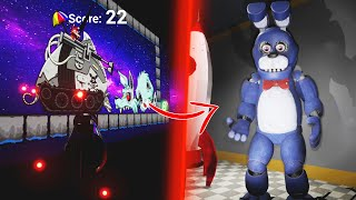 ENTRANDO EN LA ATRACCIÓN OCULTA DE FIVE NIGHTS AT FREDDY'S!! | FNAF Park of Horror
