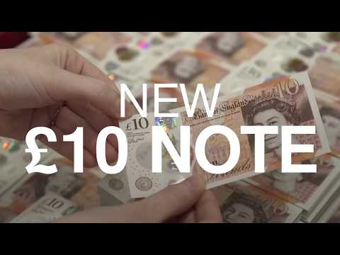 New £10 note featuring Jane Austen unveiled