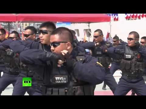 Anti-terrorism, anti-drug trafficking air & sea drills in Taiwan, China