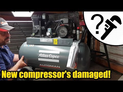 New Atlas Copco Air Compressor #1982