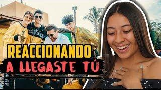 Reaccionando a LLEGASTE TÚ - CNCO Ft. Prince Royce • Alejandra Pinto