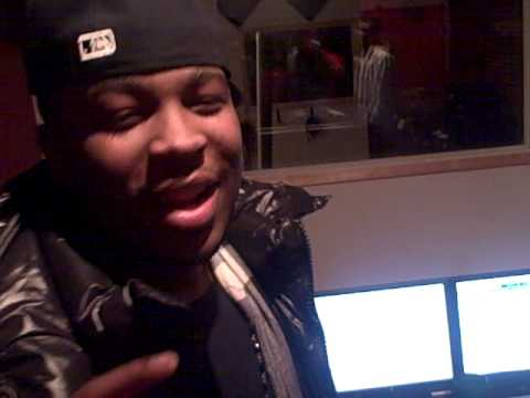 PLEASURE P, JASON & CREW IN THE STUDIO IN INDIANAPOLIS WITH FLYYSTAR ENT