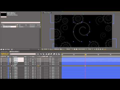 AE Basics 32: Creating a Motion Background with Shapes Layers