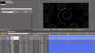 AE-Grundlagen 32: Erstellen eines Motion-Hintergrund mit Formen-Layern