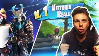 THE FIRST REAL VITTORY OF SEASON 5 OF FORTNITE IS HERE!
