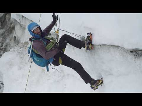 Arc'teryx Alpine Academy - Ascending out of a Crevasse
