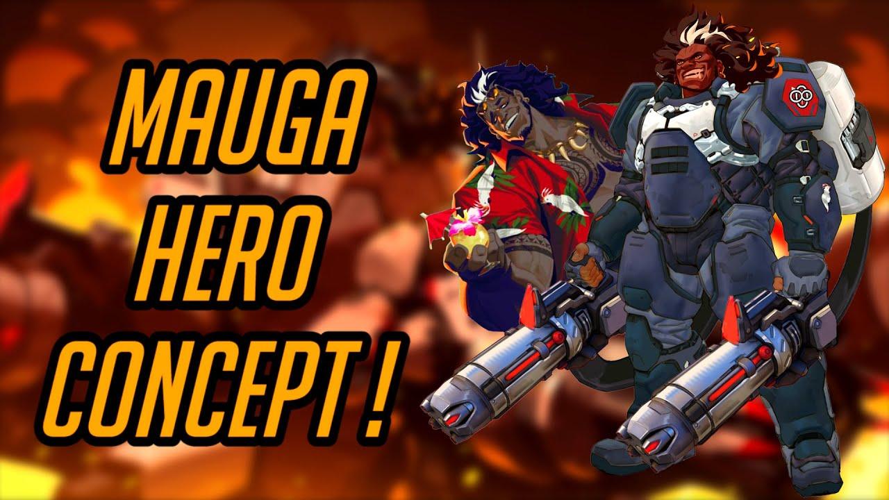 Download Overwatch | MAUGA Tank Hero Concept! | Talon Heavy Assault Potential Abilities & New Mechanics!