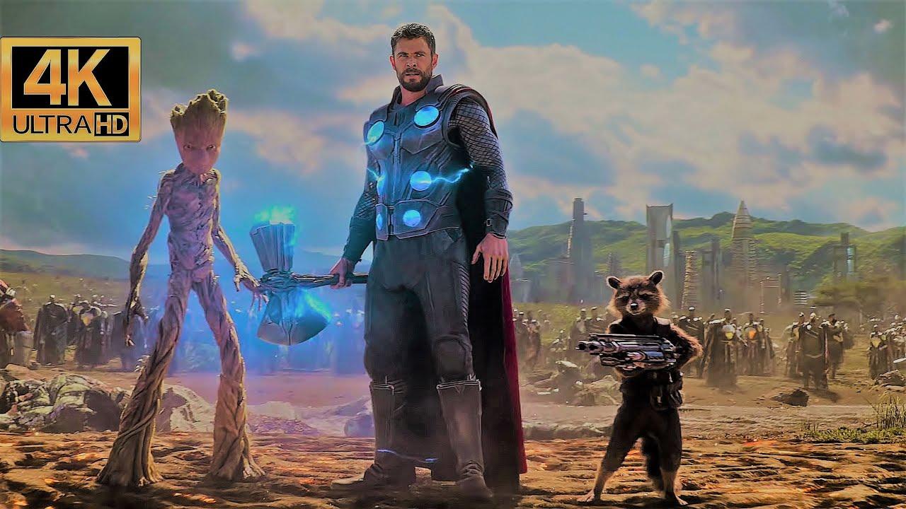 Download Thor Arrives In Wakanda Scene - Avengers Infinity War (2018) Movie CLIP 4K ULTRA HD