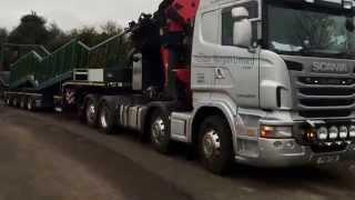 Scania R480 Palfinger PK 100002 G & EFFER 1405 8S Dual Lift by Alasdair Morgan Ltd | Gregorezzi