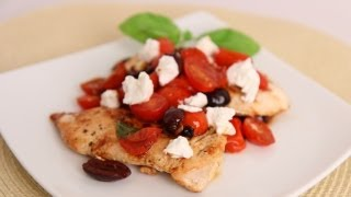 Sauteed Chicken W/ Tomatoes & Goat Cheese Recipe - Laura Vitale - Laura In The Kitchen Episode 521