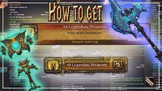 How to get Every Legendary│World of Warcraft Vanilla - Legion