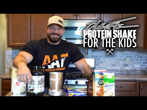 Seth Feroce Protein Shake for the Kids
