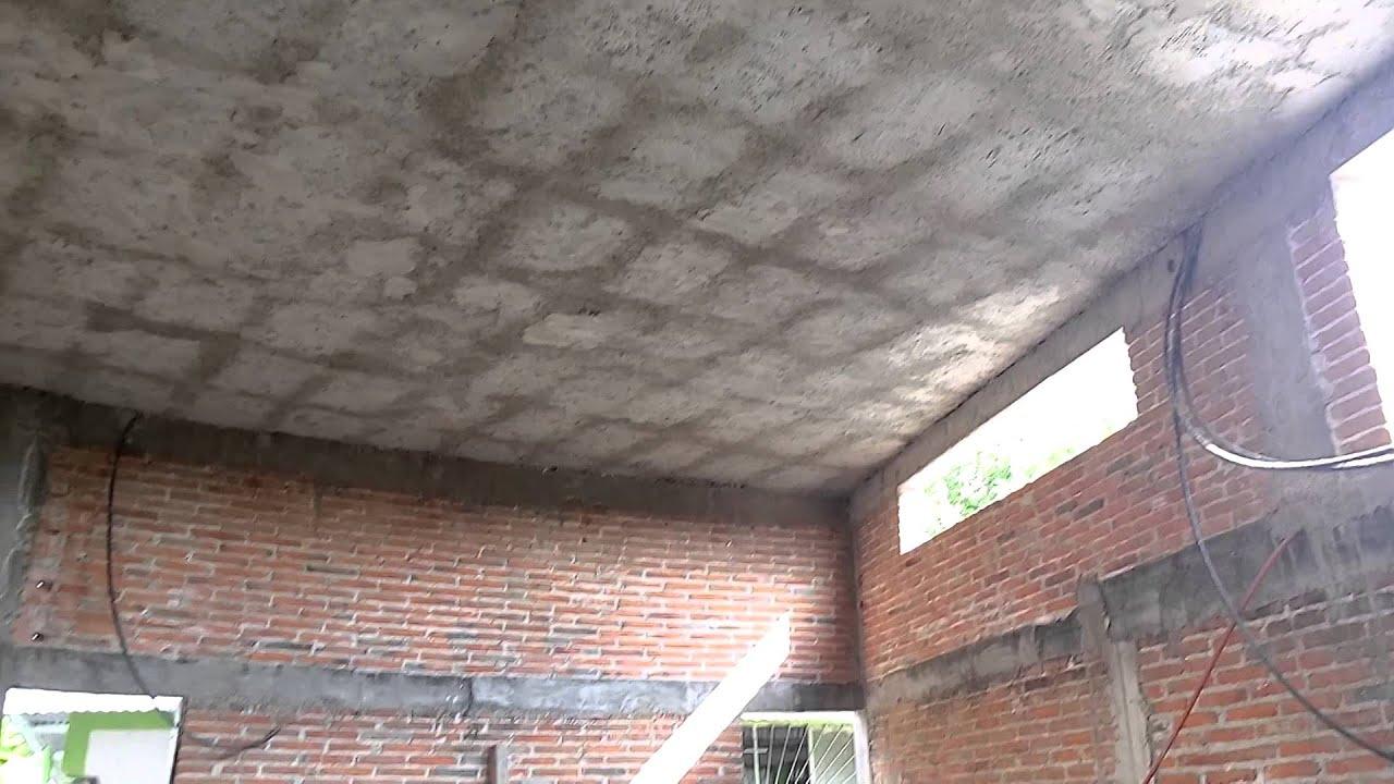 Como construir una losa zarpeado de losa con casetones for Losa techo