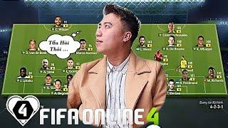 FIFA ONLINE 4   Đội Hình FULL +8 Vàng Chói Cùng Vodka Quang TẤU HÀI Cực Mạnh Trước Khi TRÁNH BÃO