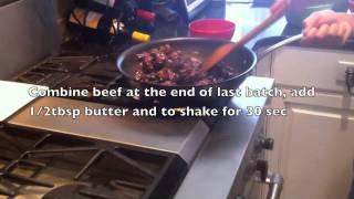 Shaken Beef, Wok Charred Beef