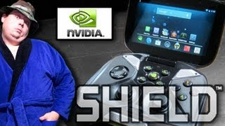 Unboxing & Review of nVidia Project Shield Handheld Gaming System - Tegra 4 Android