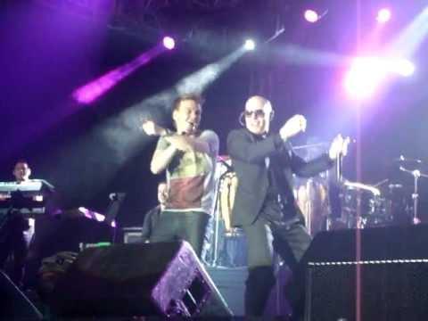 Pitbull e Michel Teló