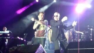 """Pitbull e Michel Teló """"Ai se eu te pego""""  - 19/01/12 - Centro de Convenções, Recife"""