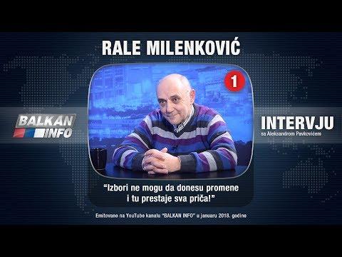 INTERVJU: Rale Milenković - Izbori ne mogu da donesu promene i tu prestaje sva priča! (19.01.2018)