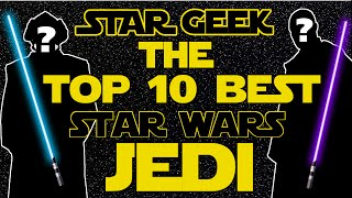 top 10 jedi and sith
