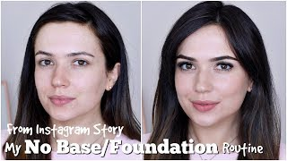 My NO FOUNDATION Makeup Routine Updated | TheMakeupChair