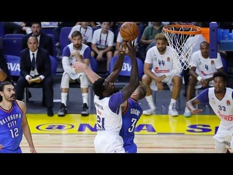 NBA Global Games Highlights: Real Madrid-Oklahoma City Thunder