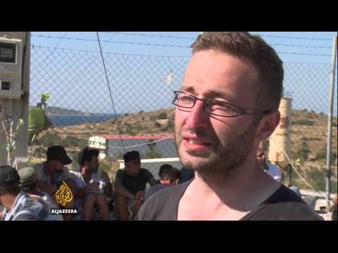 Refugee crisis strains resources on Greek island