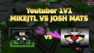 Roblox Tower Battles 1V1 with Josh Mats! Youtuber 1v1 in Tower Battles!