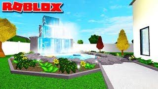 CREATING MY GARDEN ON BLOXBURG | Roblox