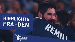 Highlights | Bronze Medal Match | France vs Denmark | Men's EHF EURO 2018