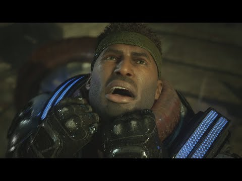 Gears 5 - Del's Death & Alternate Ending Scenes [1080p 60FPS HD]