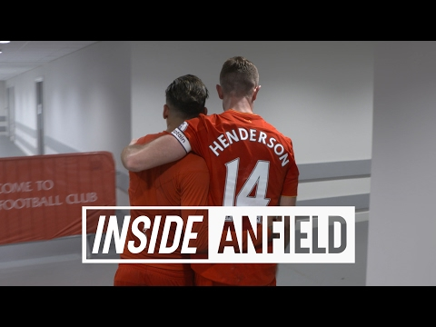 Inside Anfield: LFC v Spurs | Tunnel Cam featuring Homeland star Damian Lewis