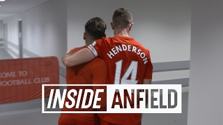 Inside Anfield: LFC 2-0 Spurs | Tunnel Cam featuring Homeland star Damian Lewis