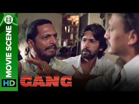 Nana Patekar Angry On Jackie Shroff | Gang