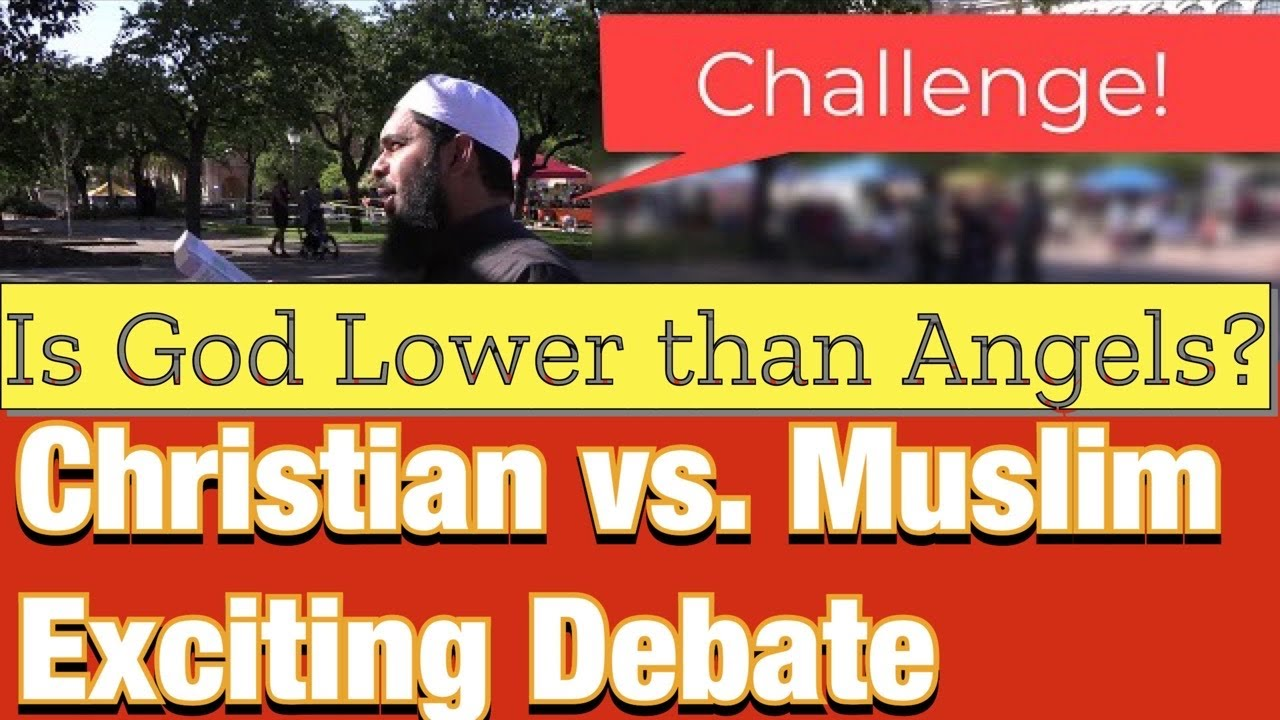 Download Is God Lower than Angels? Exciting Debate!