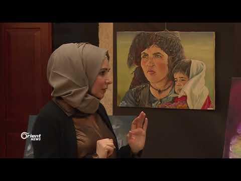 فنان سوري باسطنبول يروي تجربة اعتقاله عبر لوحاته  - 09:21-2018 / 3 / 21