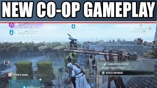 Assassin's Creed Unity Multiplayer Coop Gameplay Part 3 With Funny Moments PS4 Xbox One PC