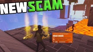 *NEW* Under Map Glitch + New Scamming Method! Avoid NEWEST Scam In Fortnite Save The World