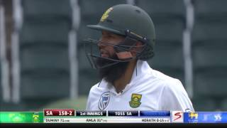 South Africa vs Sri Lanka - 3rd Test - Day 1 - Session 2 Highlights