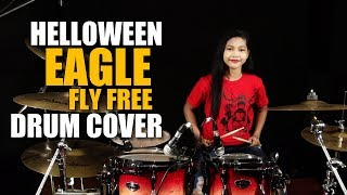 Video Helloween Eagle Fly Free - Drum Cover by Nur Amira Syahira download MP3, 3GP, MP4, WEBM, AVI, FLV April 2018