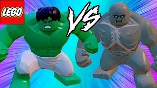 LEGO Marvel Vingadores (Avengers) Hulk VS Abominável em Briga de Herois #38