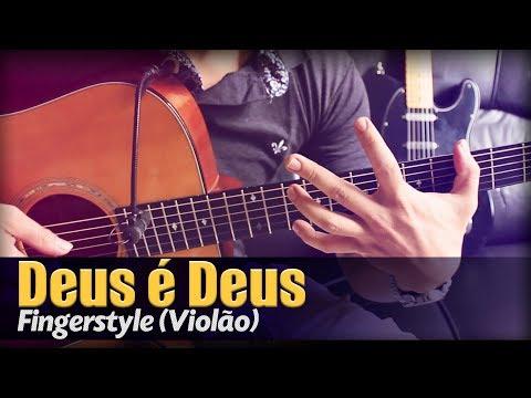Deus é Deus - Delino Marçal Violão Solo Fingerstyle by Rafael Alves