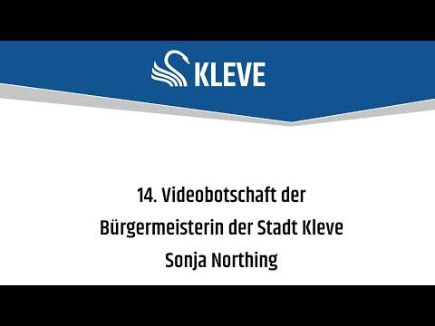 Corona - 14. Videobotschaft der Bürgermeisterin der Stadt Kleve, Sonja Northing (am 18.06.2020 um 17:07)