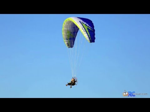 Hacker Nexus R/C Powered Paraglider RCGroups Review Video