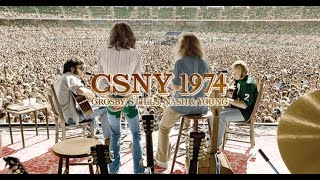 CROSBY STILLS NASH & YOUNG - Almost Cut my Hair (Live 1974)