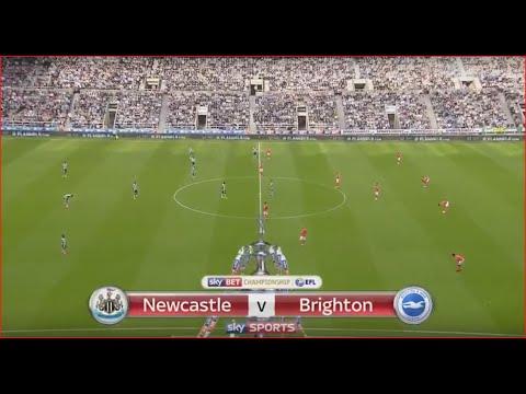 NEWCASTLE VS BRIGHTON - FULL 1st HALF
