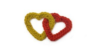 Linked Hearts Crochet Tutorial | Poppy Shop Patterns