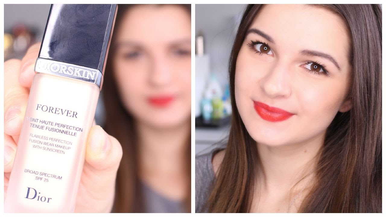 Najnowsze DIORSKIN FOREVER FOUNDATION | FIRST IMPRESSIONS - YouTube GR16