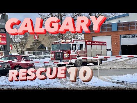 CFD   Calgary Rescue 10 Responding Code 3